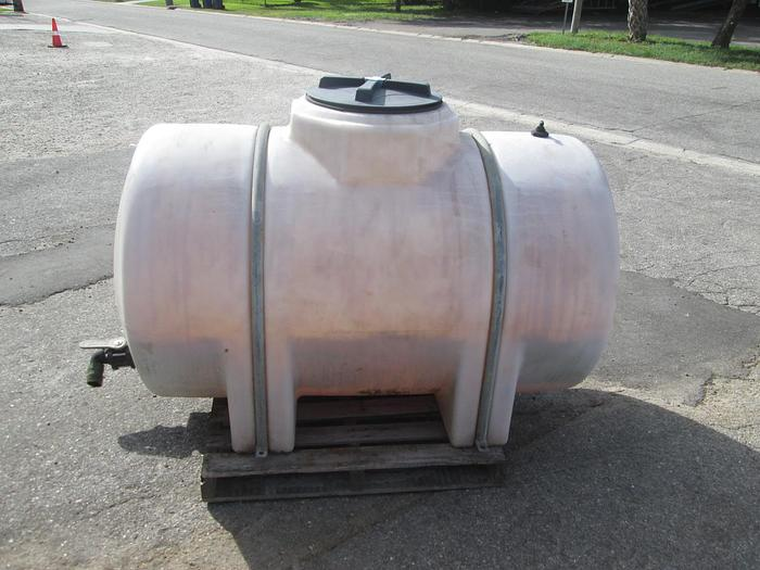 Used 325 Gallon Poly Tank