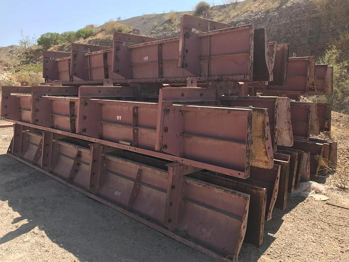 Used Symons Precast Security Barrier Forms