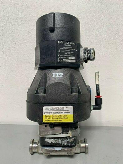 "Used ITT Pur-Flo 628588-006-020 316L Valve w/ 1"" Sanitary Fitting"