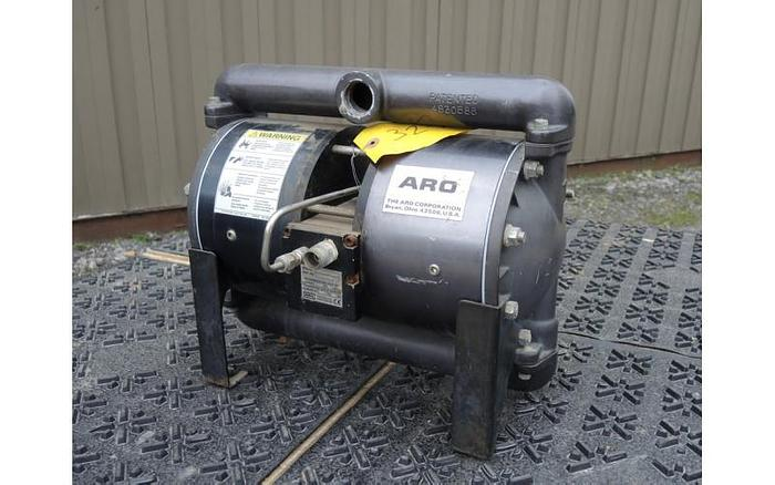 "USED DIAPHRAGM PUMP, 1"" X 1"" INLET & OUTLET, ""HIGH PRESSURE"" ALUMINUM"