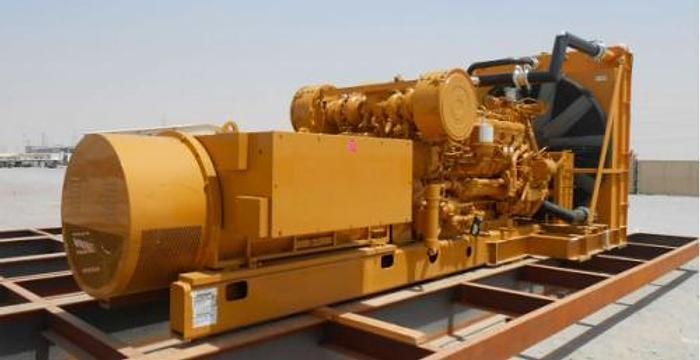 1.36 MW 2009 Used Caterpillar 3512B DITA Diesel Generator