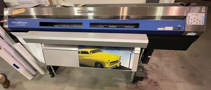 "Used Roland SolJet XC-540 (54"") Printer"