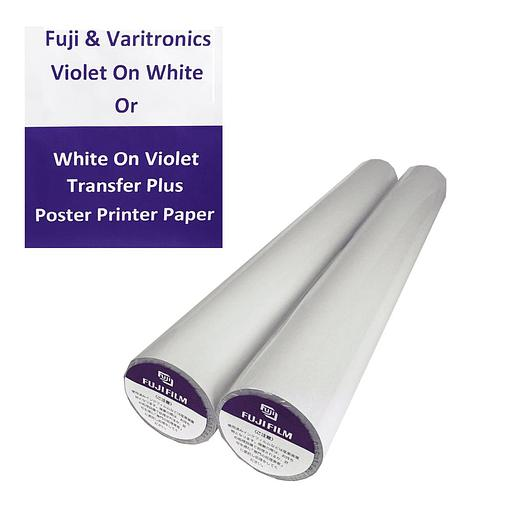 Violet/Purple On White Thermal Transfer Paper - 968818