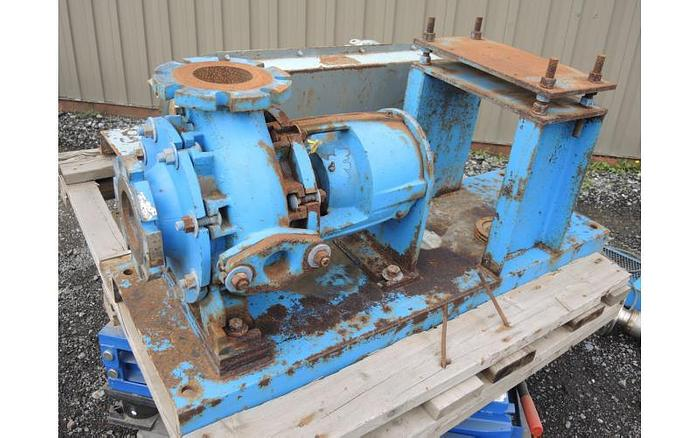 "USED CENTRIFUGAL PUMP, 4"" X 4"" INLET & OUTLET, CARBON STEEL"