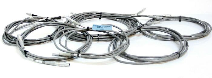 Used Femo FGG.1B FGG.2B PHG.1B Push Pull Connector w/ Belden 9944 Cable Lot of 9 5799