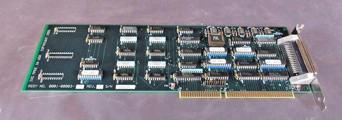 Used IVS 0001-00003-01 REV. B PC Card / Board from IVS 220 CD SEM PC (3579)