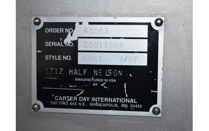 USED JACOBSON CARTER DAY HALF NELSON CRUSHER (HNC)