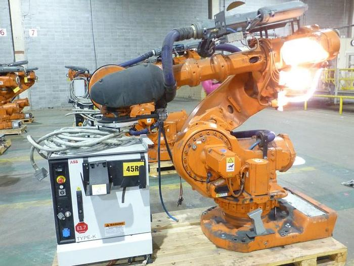 Used ABB IRB 7600-325/3.1 ROBOT WITH IRC5 CONTROLLER