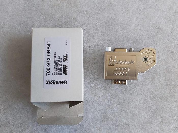 Profibus Anschlusstecker, 35°, 700-972-0BB41, Helmholz,  neu