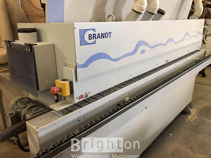 Used 2012 Brandt Ambition 1110 (KDF110) used edgebander with pre-milling