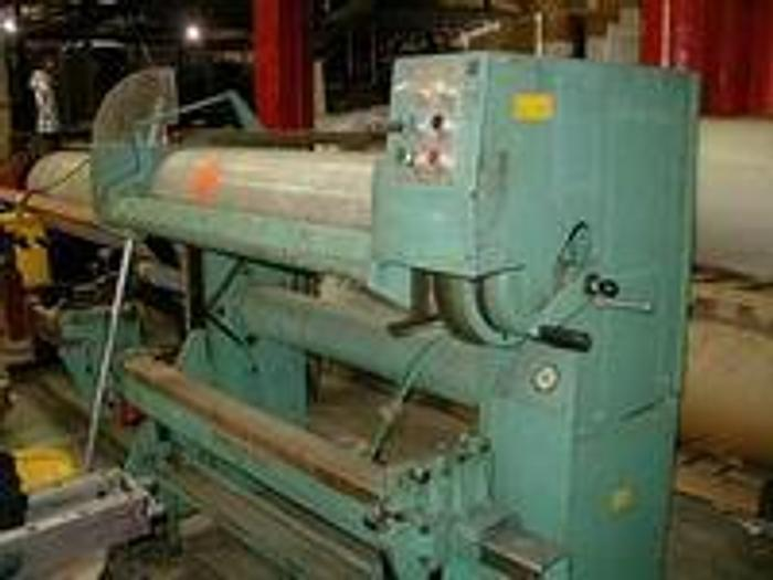 """Used Mosstype Mounter, Model M18-2, 47"""" roll face, 12"""" roll diame"""
