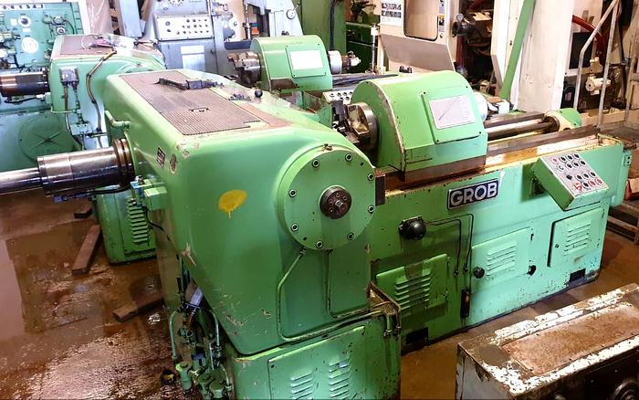 GROB ZRM9 COLD SPLINE ROLLING MACHINE
