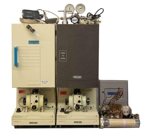 Used Ametek Mocon Permatran-W 3/31 MG Model Water Vapor Permeability LOT OF 2 (7288)R