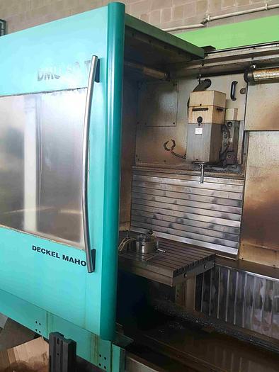 FRESATRICE A BANCO FISSO VERTICALE DECKEL MAHO DMU 60 T CNC