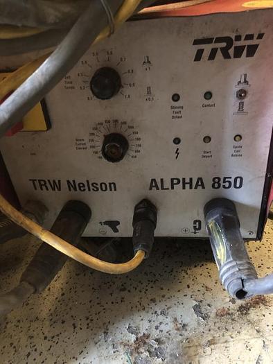 Usata PIOLATRICE  NELSON TRW ALPHA 850