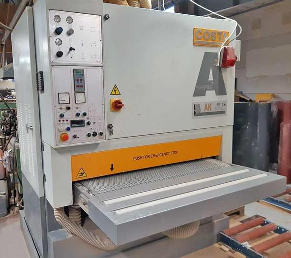 Used 2000 COSTA Italy Wide belt sanding machine COSTA LEVIGATRICI AK CT 1350