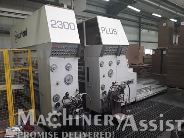 Used 2005 CURIONI 2300 Flexo Printer x 2