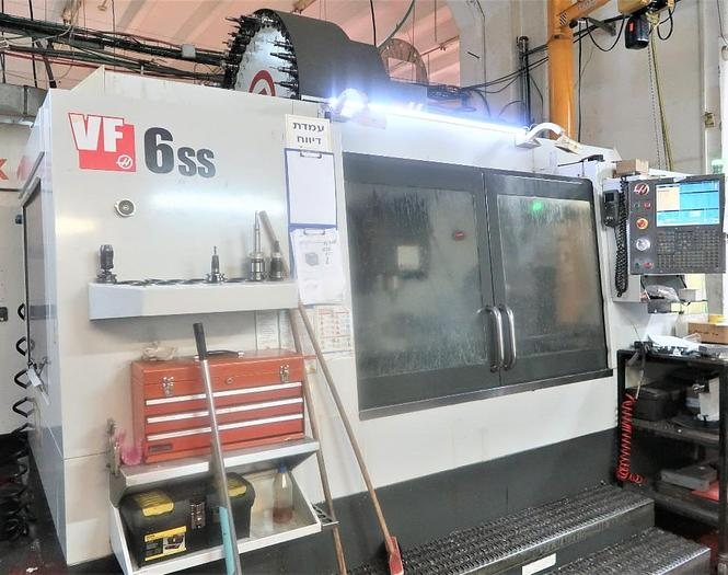 HAAS VF-6SS 4-AXIS PRECISION VERTICAL MACHINING CENTER 2011