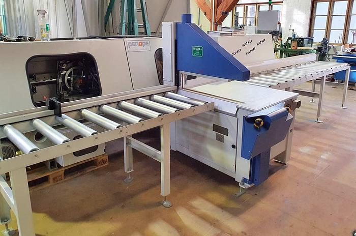 Used 2011 WEINIG Dimter Under table crosscut saw WEINIG OptiCut C700