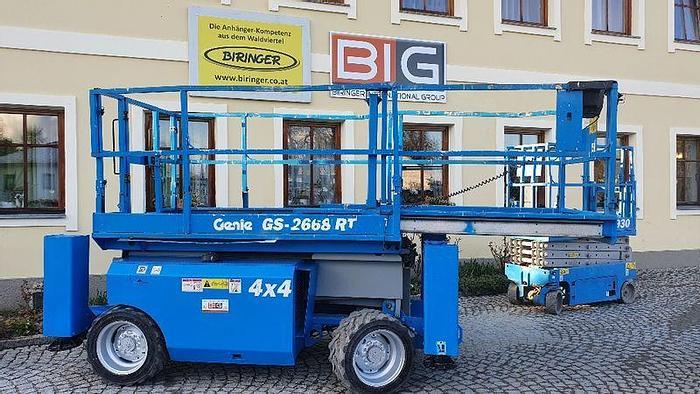 Gebraucht Genie GS2668RT 4x4 Scherenarbeitsbühne