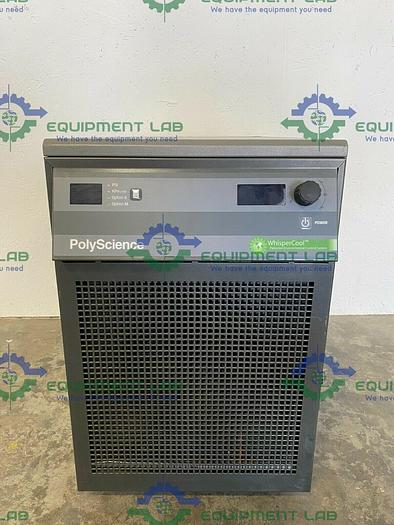 Used PolyScience WhisperCool N0772046 Refrigerated Chiller 230V –10 °C to +40 °C