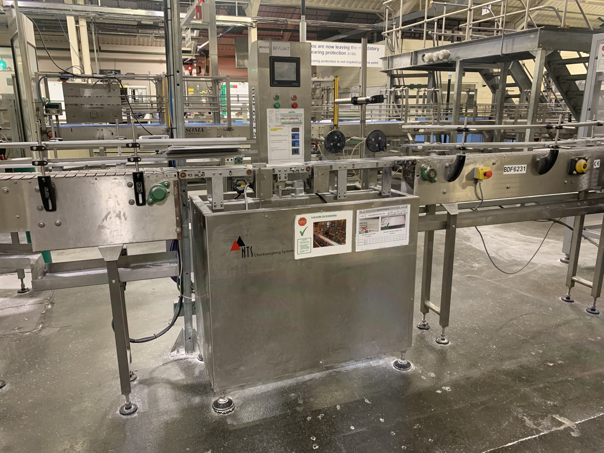 Used 2004 NTS UK LTD NTS FF250 Check Weigher