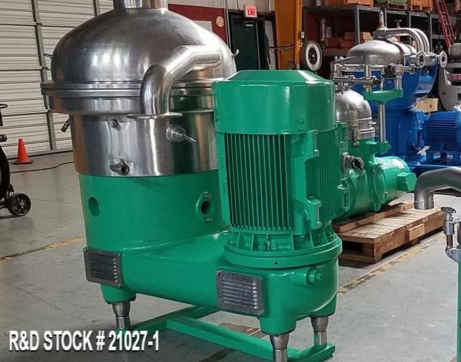 Used Centrifuge Westfalia SA40