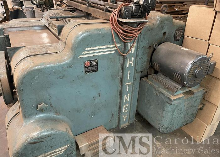 Used Newman Whitney S970 Top & Bottom Planer
