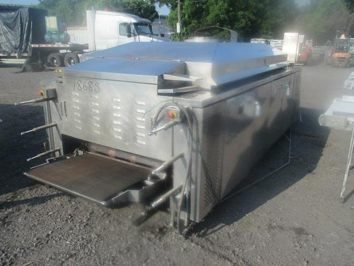 """Used Lawrence Equipment 3-Pass Flour Tortilla Oven; Md#OFO 3412-16; 36""""x12'"""