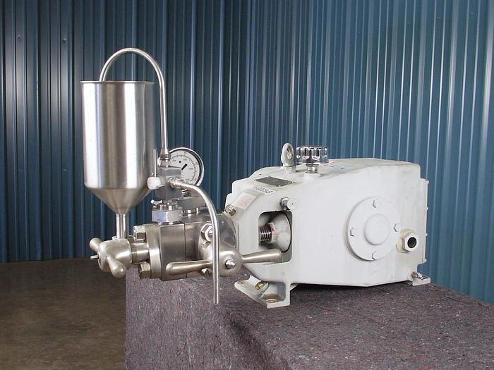 Used GAULIN LAB HOMOGENIZER – TWO STAGE – 8,000 PSI – RECONDITIONED