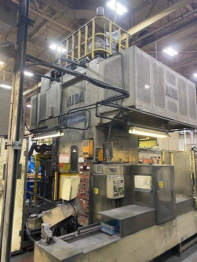 Used 220 ton AIDA CF1 Stamping Press