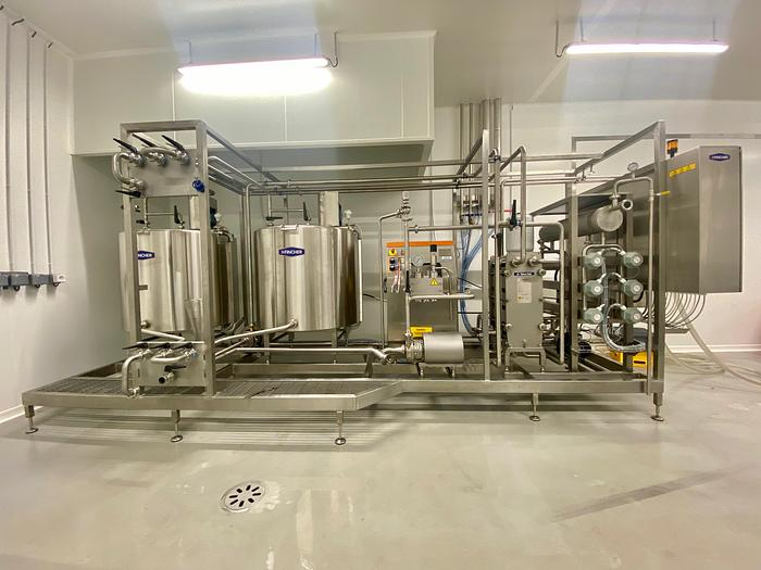 MIX 600 PASTEURISATION PLANT