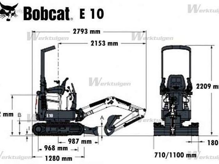 Bobcat E10 - PESO 12QL