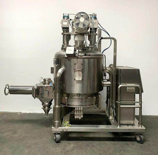 Used Charles Thompson 585 Liter Nutsche Agitated Filter Dryer w/ Spares 0.58 m3