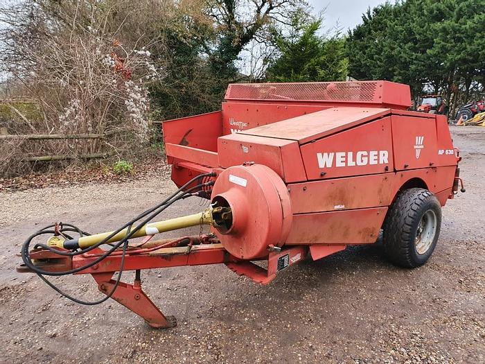 Used Welger AP630 Conventional Baler