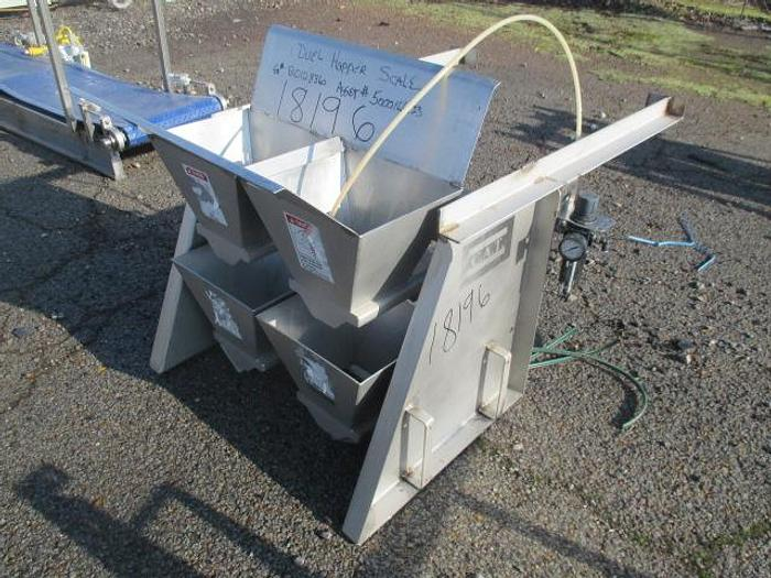 Used CAT Dual Hopper Scale