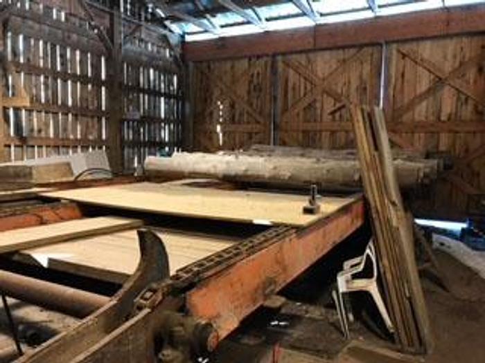 Used Unknown Log Deck