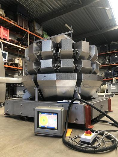 Used Yamato multihead weigher ADW714 SWH