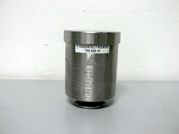 """Used Anderson Instruments TPP012004110000 0-100 PSIG Pressure Transmitter 2"""" Sanitary"""