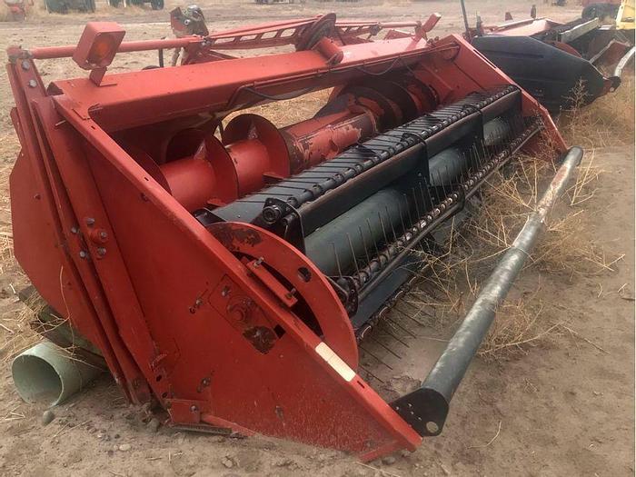 Used 12' Hesston 800S Sickle Hay Header
