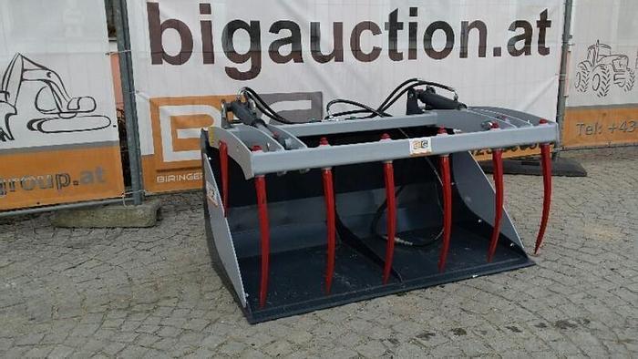 Krokodilschaufel 210 cm zu Bobcat Teleskoplader