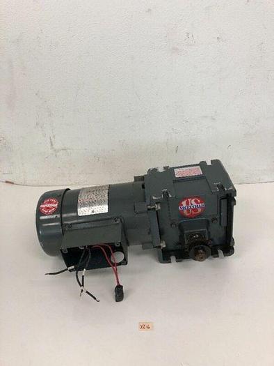 Used Wattsaver Motor C4T17FC12B W/ Torqube Gear Reducer E638/B10N Warranty!