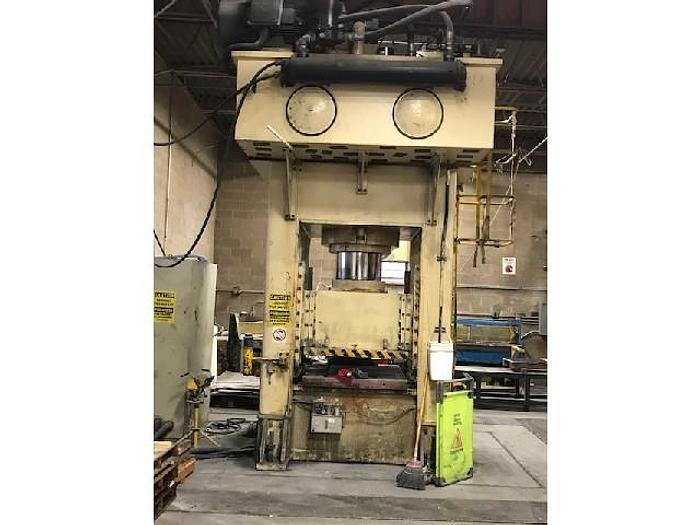 Used 600 ton Sutherland Hydraulic Press
