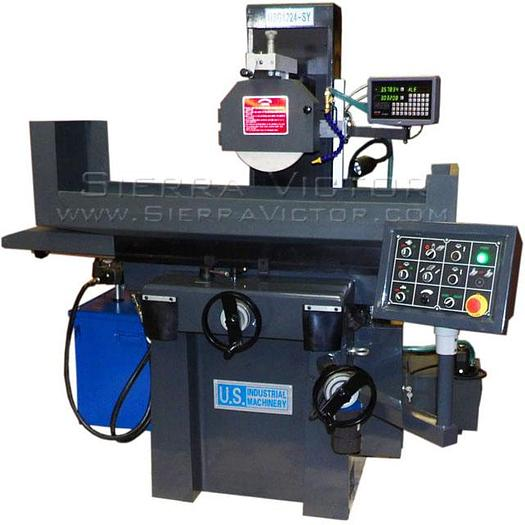 U.S. INDUSTRIAL 2-Axis Automatic Toolroom Surface Grinder USG1224-SY