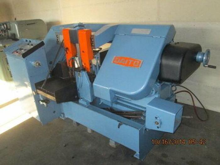 "DAITO HIGH QUALITY MODEL GA 330 FULLY AUTOMATIC 14"" HORIZONTAL BANDSAW"