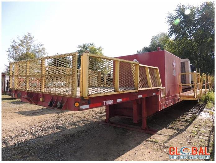 Used Item 0743 : 1986 Fontaine Tandem-Axle Step Deck Trailer