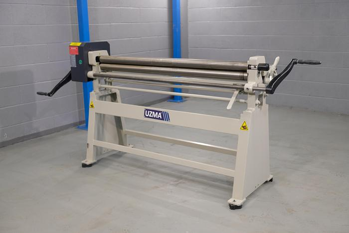 UZMA RS 1550mm x 75mm Manual Initial Pinch rollers