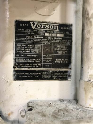 600 TON VERSON SE2-600-96-54