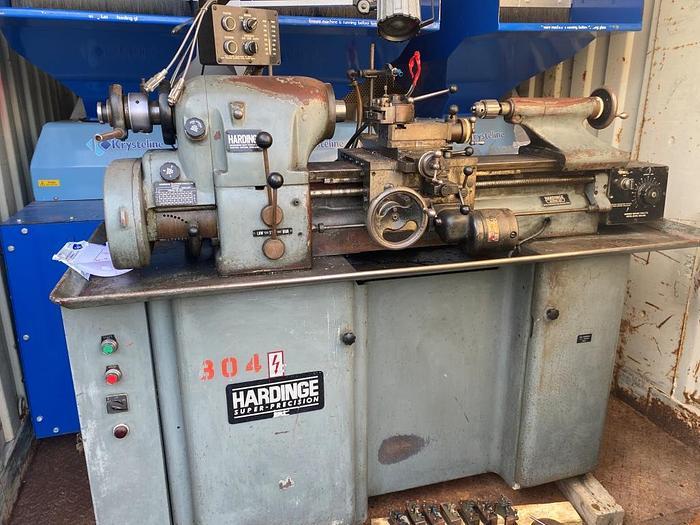 Used Hardinge HLV-H Super Precision Manual Lathe