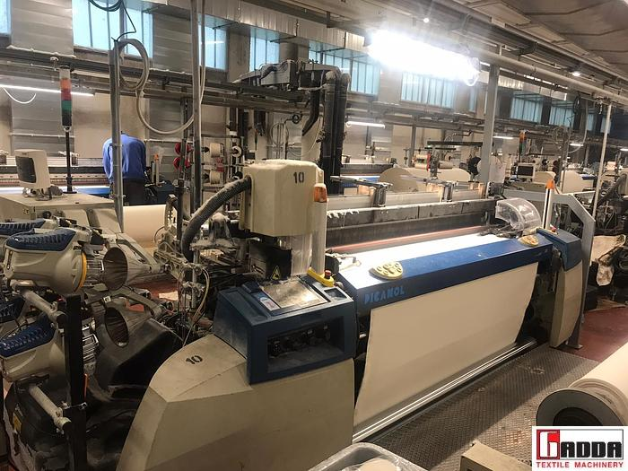 Used PICANOL AIRJET OMNIPLUS OMP800-4-R RATIERA DOBBY